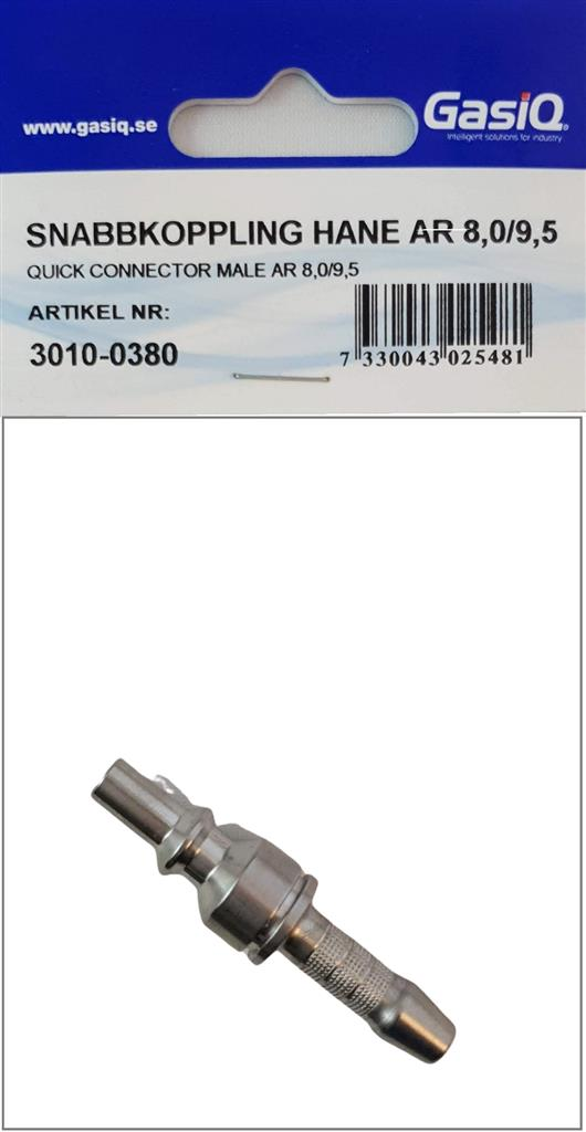 QUICK CONNECTOR MALE AR 8+9,5
