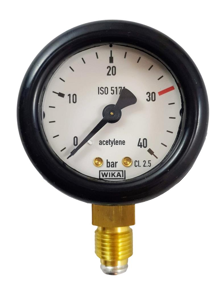 MANOMETER AC 40 BAR HP