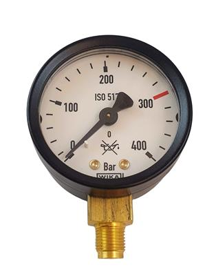 MANOMETER 400BAR G1/8 OPT.BOC